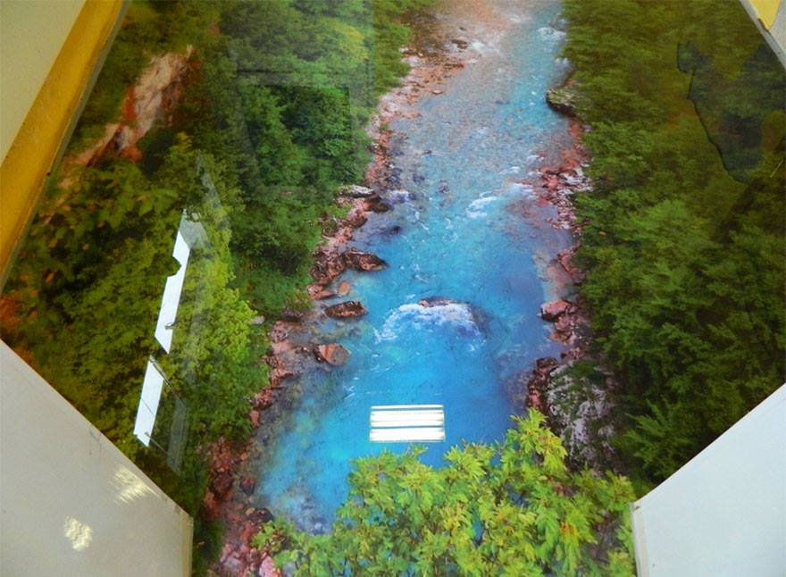 3d epoxy floor river