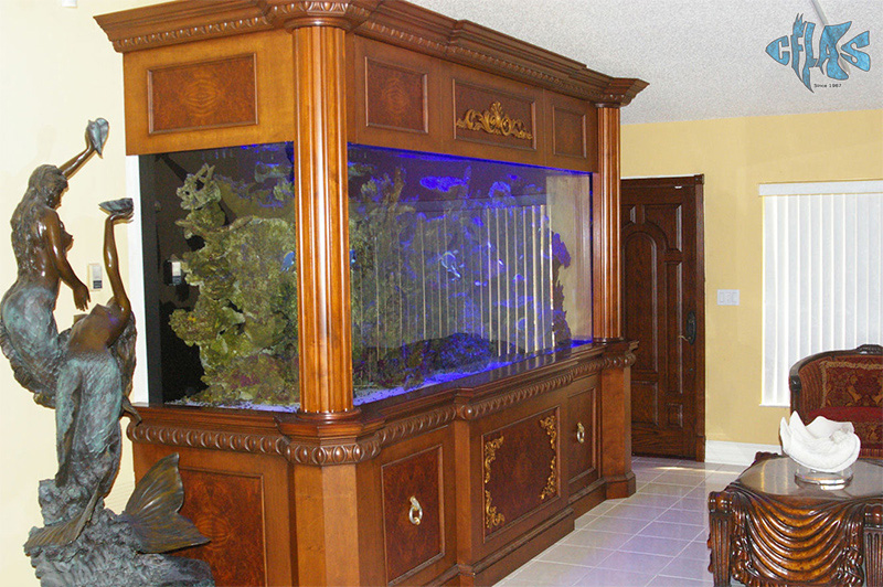 Black Pearl Custom Aquariums 900 Gallon Aquarium 2