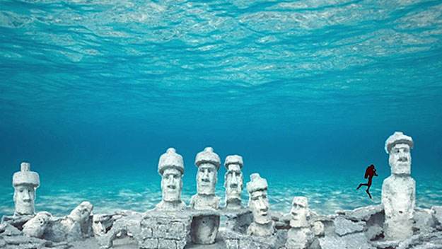 Rendering of the Rapa Nui Reef, Photo: Sunny.org