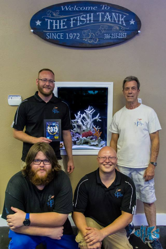 The Fish Tank of Daytona Beach, Voted Best Freshwater Retail Shop 2015